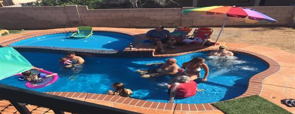 Our Fiberglass Pool Services San Juan Pools Parrot Bay